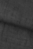 Roleta rzymska o wyraźnej strukturze tkaniny w kolorze antracytowym (DWL93) na wymiar.
