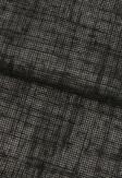 Roleta rzymska o wyraźnej strukturze tkaniny w kolorze czarnym (NSP95) na wymiar.