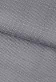 Roleta rzymska transparentna o wyraźnej strukturze tkaniny w odcieniu szarym (NF91) na wymiar.