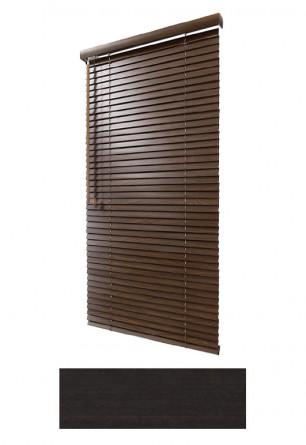 Żaluzja drewniana 25mm na wymiar w kolorze (HEBAN) na wymiar.