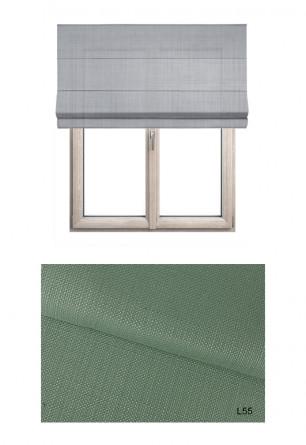 Zielona roleta rzymska LOFT L55