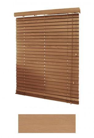 Piaskowa żaluzja bambusowa 50 mm na wymiar.