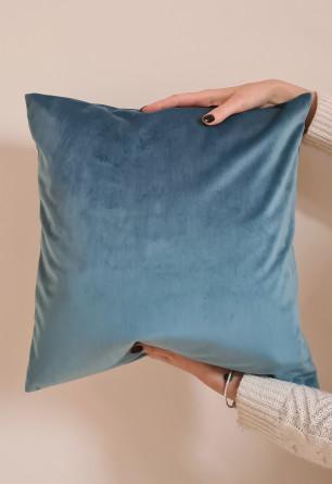 Dekoracyjna poszewka na poduszkę w tkaninie Welur 55x55