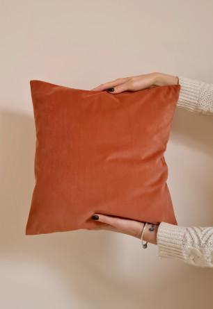 Dekoracyjna poszewka na poduszkę w tkaninie Velvet 40x40