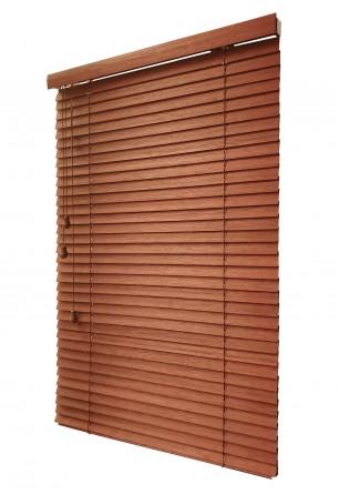 Bambusowa Żaluzja 50mm w kolorze sezam na wymiar - Nasze Domowe Pielesze