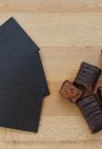 Żaluzje drewniane 25mm na wymiar w kolorze wenge - TRUFLA.