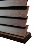 Żaluzja drewniana 25mm na wymiar w kolorze ANYŻ