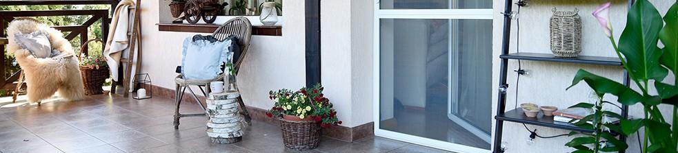 Aluminiowe Drzwi Moskitierowe Na Zawiasach Samodomykających