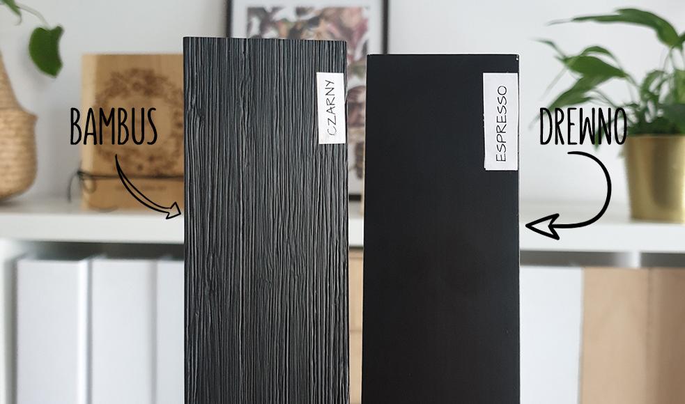 Bambus w kolorze czarnym