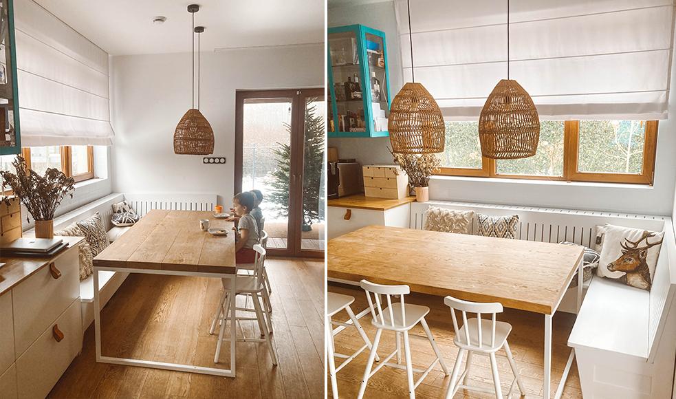 drewno w kuchni rolety rzymskie nasze domowe pielesze