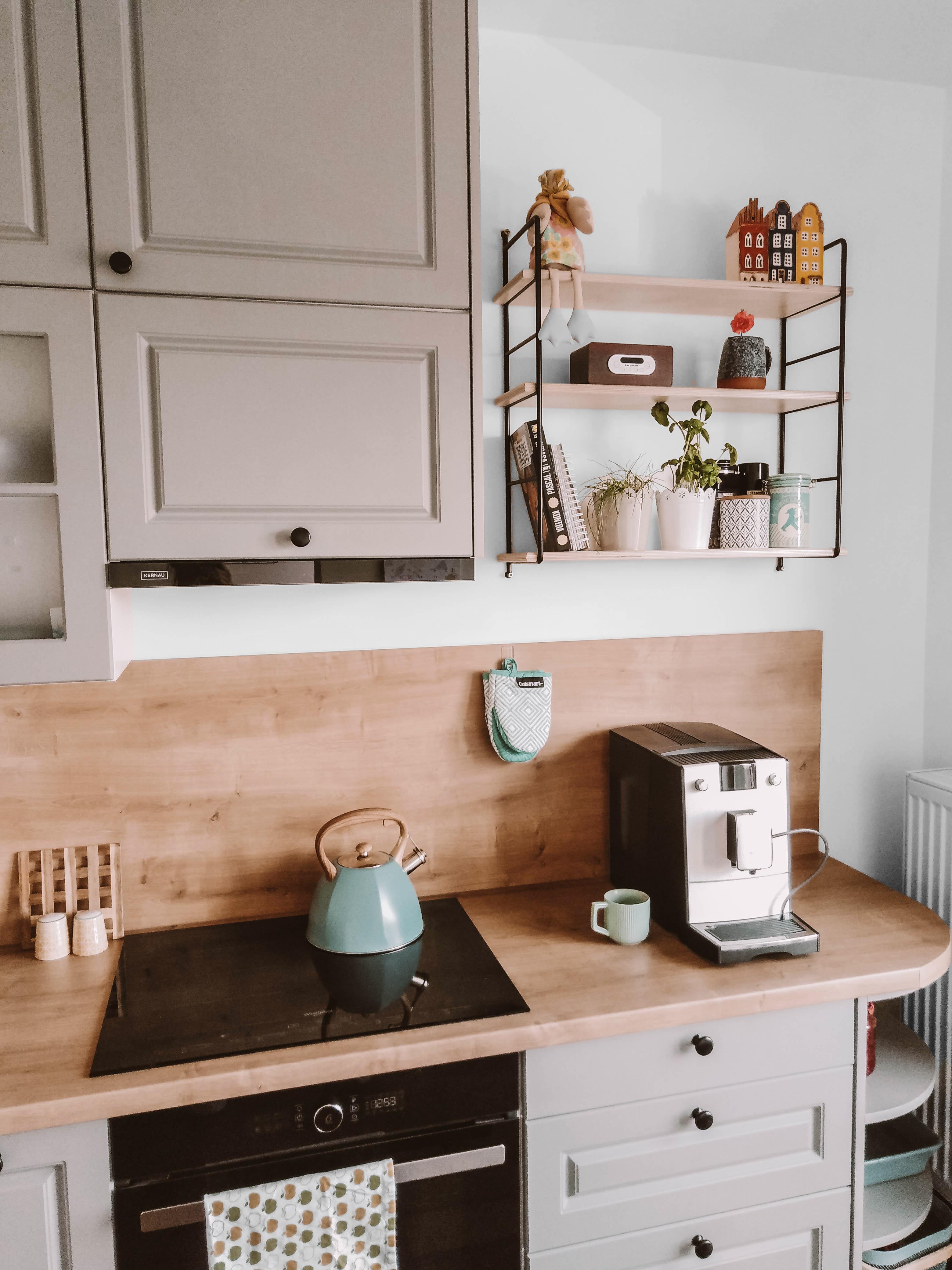 półka ścienna szara kuchnia nasze domowe pielesze