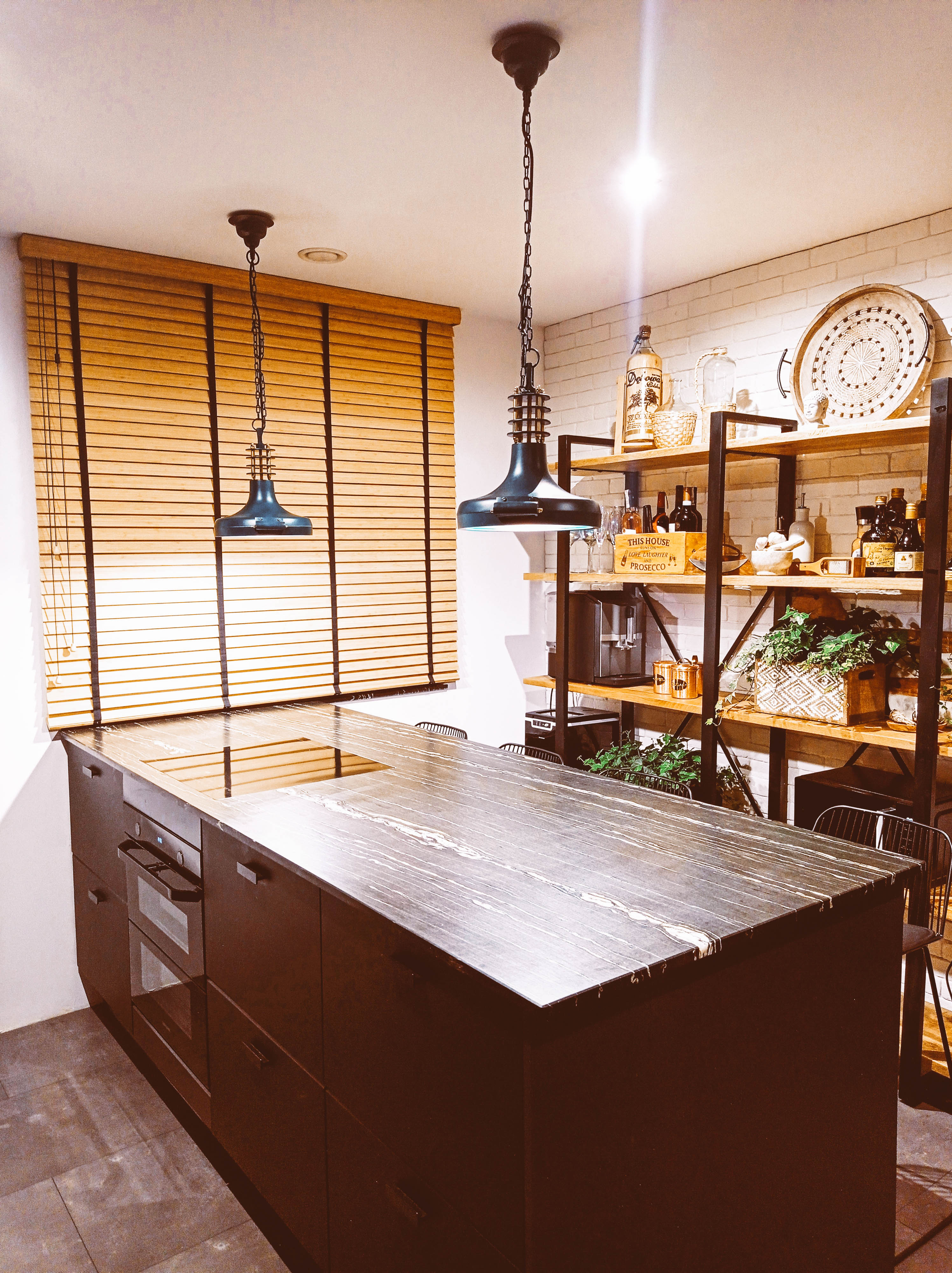 drewno w kuchni żaluzje bambusowe nasze domowe pielesze