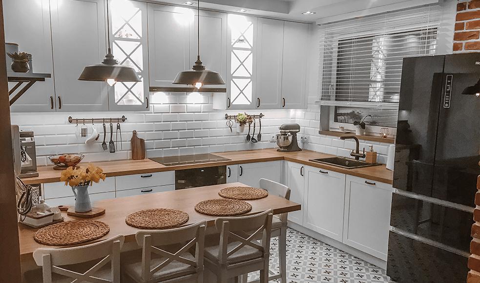 biala kuchnia inspiracje żaluzje nasze domowe pielesze
