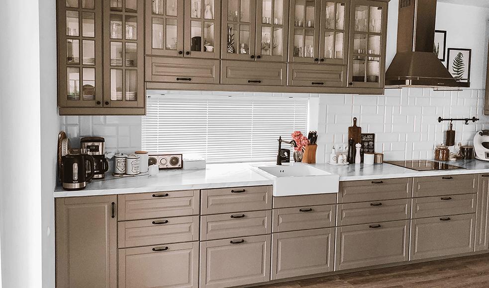 zaluzje aluminiowe w kuchni nasze domowe pielesze