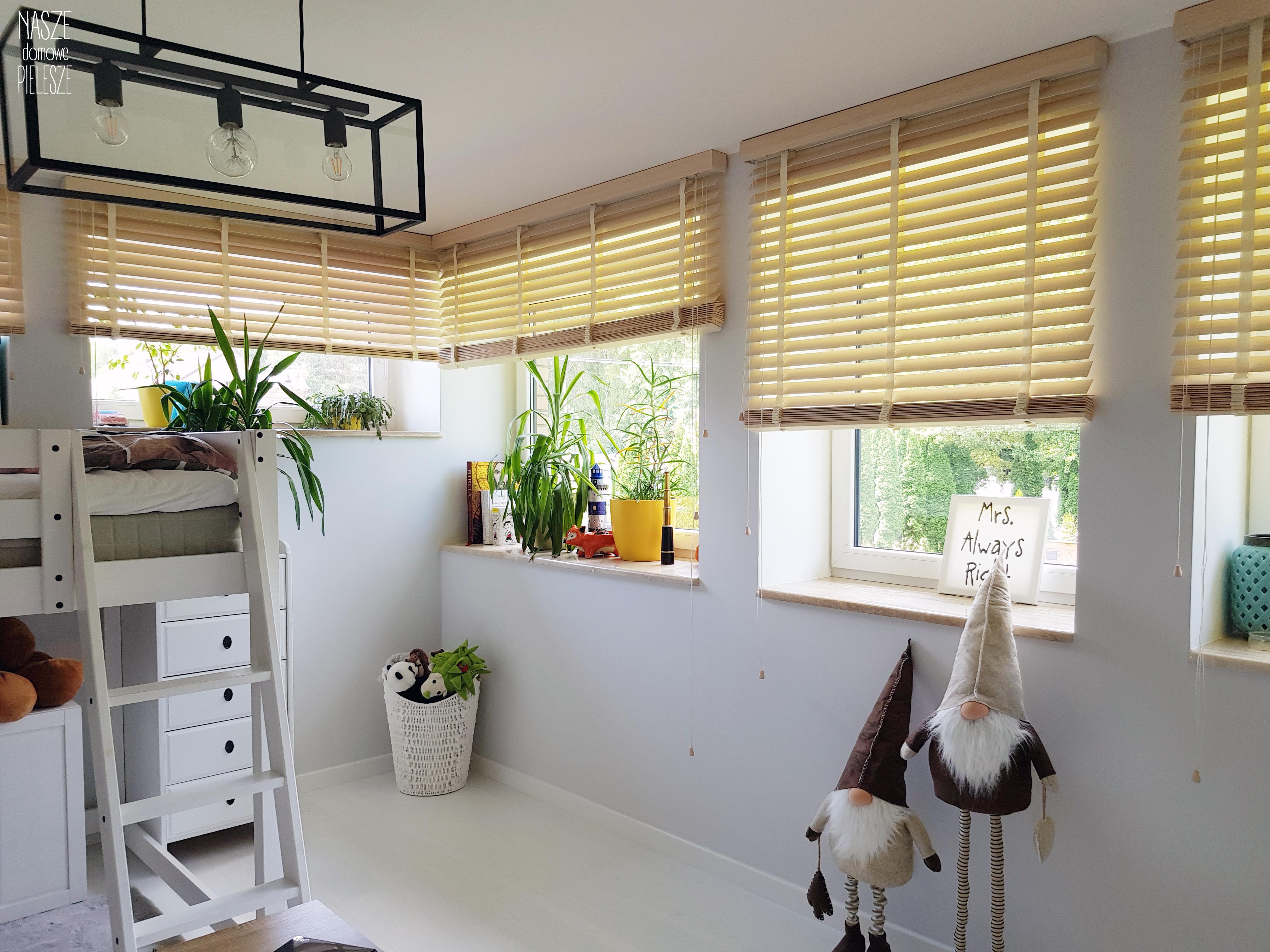 żaluzje bambusowe pokój dziecka