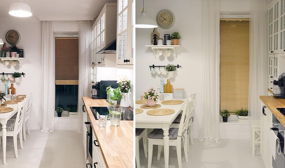 zaluzje drewniane w kuchni nasze domowe pielesze