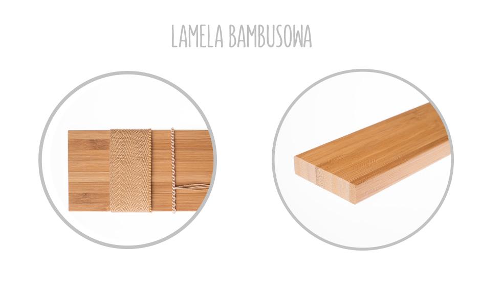 listewki lamele bambusowe do żaluzji