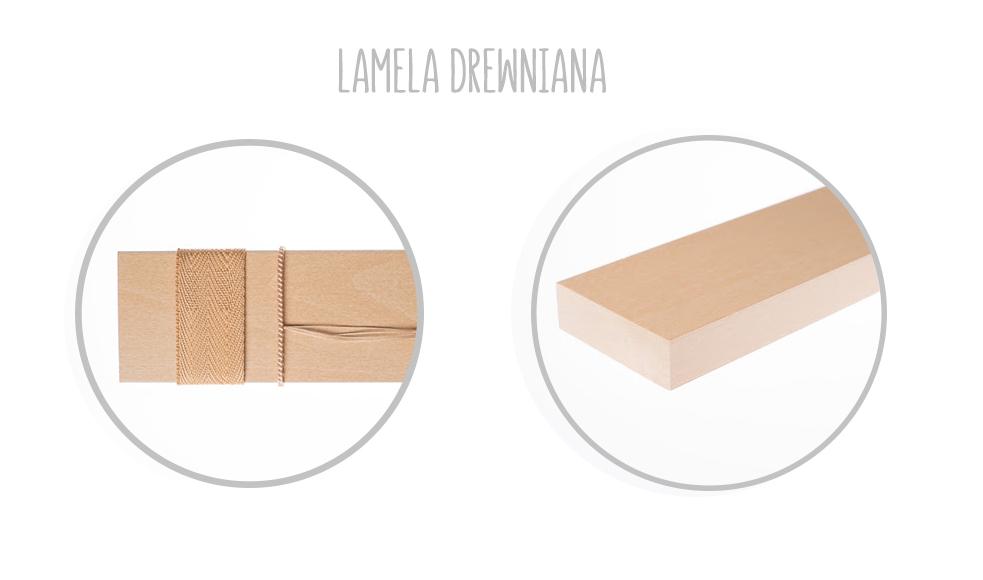 Lamela drewniana